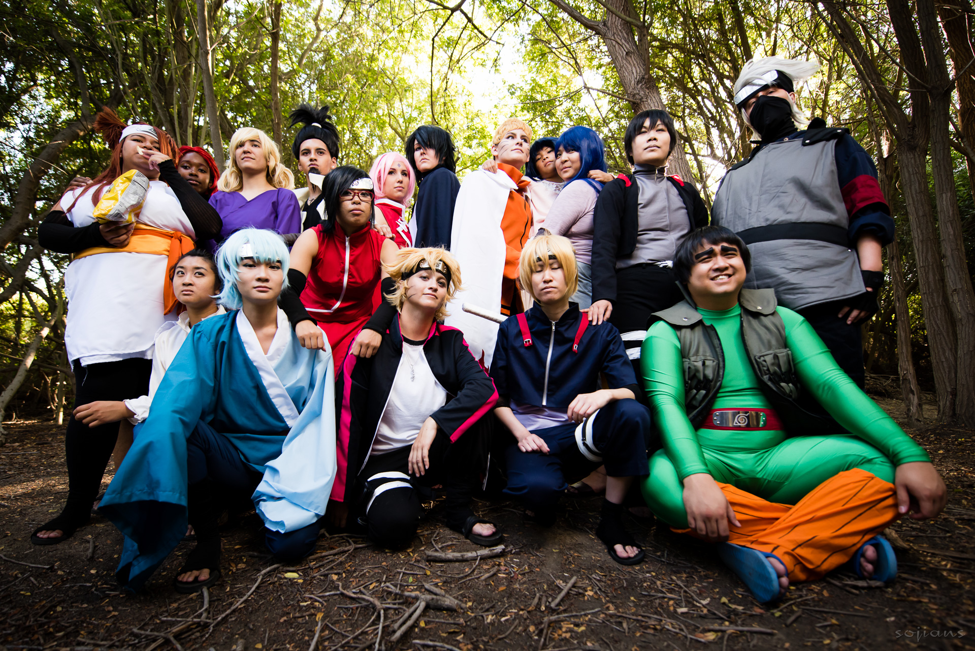 Boruto Shoot 2015